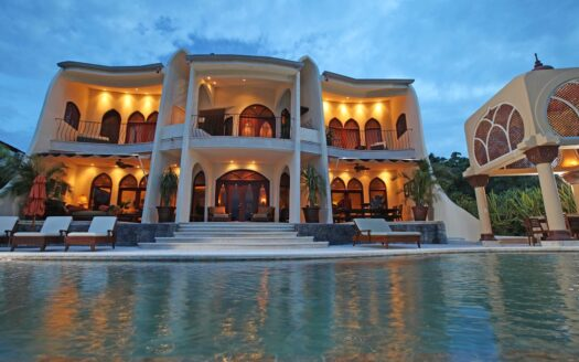 Moroccan Style Mansion with amazing ocean view